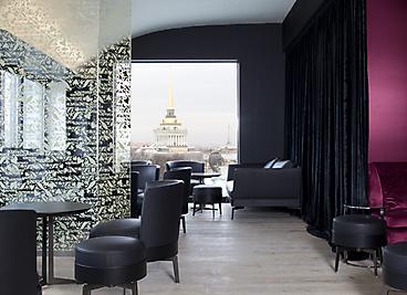 W Hotel, Saint Petersburg, Antonio Citterio, Elle Decoration